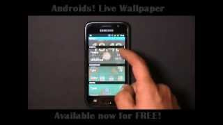 Androids! Live Wallpaper YouTube video
