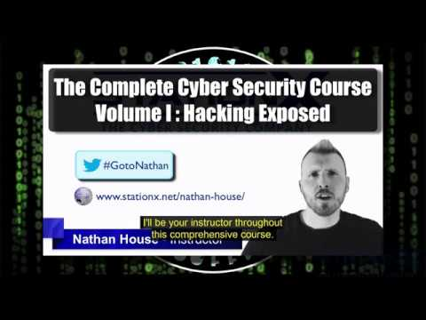 UPDATE: Captions Added to Volume 1 of the Completed Cyber Security Course