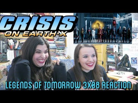 """LEGENDS OF TOMORROW 3X08 """"CRISIS ON EARTH X PART 4"""" REACTION (PART 1)"""