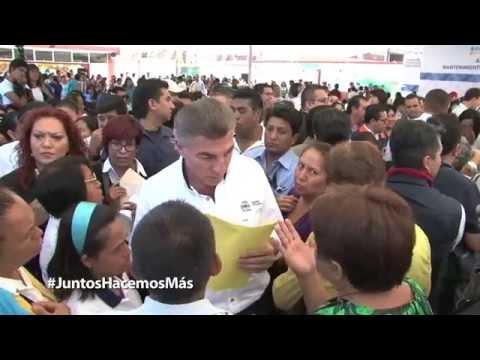 Moreno Valle y Gali Fayad arrancan Programa de Mantenimiento de Escuelas Públicas