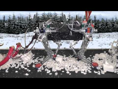 Autonomous robot - Christmas Video from the Autonomous Systems Lab, ETH Zurich, 2012. Autonomous Systems Lab http://www.asl.ethz.ch Legged Robotics http://leggedrobotics.ethz.c...