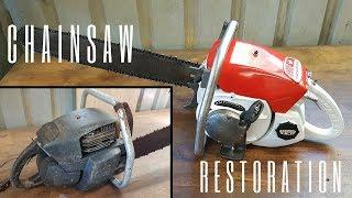 Video Seized 1960s Chainsaw Restoration MP3, 3GP, MP4, WEBM, AVI, FLV Januari 2019
