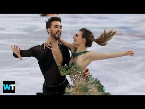 2018 Winter Olympics WARDROBE MALFUNCTION While Figure Skating In Pyeongchang | What's Trending Now! (видео)