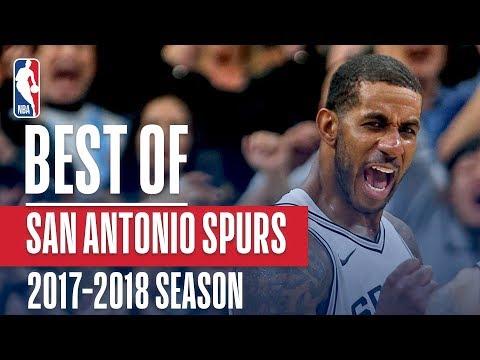 Best of San Antonio Spurs   2017-2018 NBA Season (видео)