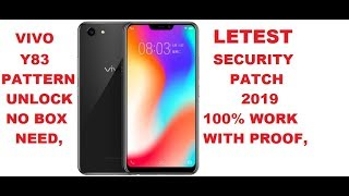 Video #vivoY83patternremove Vivo Y83, Vivo Y81 Pro Pattern Unlock,Screen Remove,Letest Security Pach 2019 MP3, 3GP, MP4, WEBM, AVI, FLV September 2019