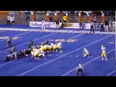 Demarcus Lawrence blocks FG vs Southern Miss video.