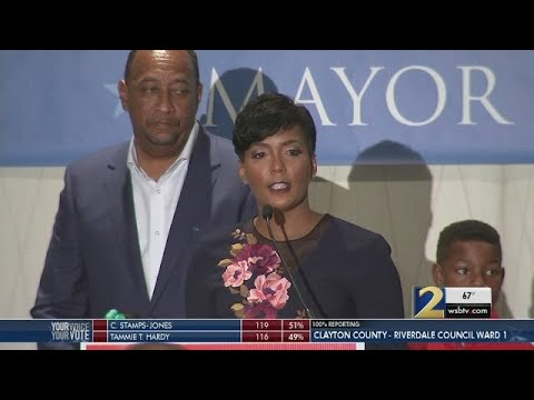 Who is Keisha Lance Bottoms, the candidate who declared victory in Atlanta mayor's race?