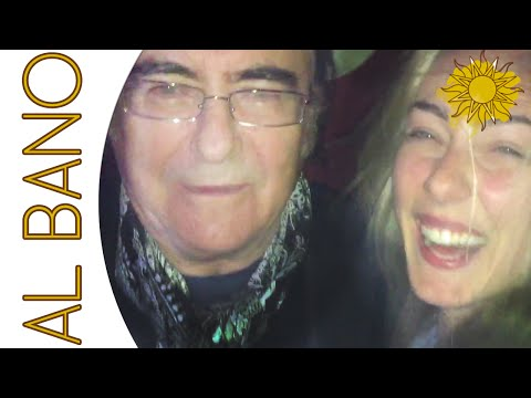 al bano & romina - felicita' (backstage con cristel e romina jr)