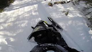 8. Ski Doo 850 trail ride