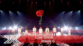Video The Contestants open the show with Rise up | Results Show | The X Factor UK 2016 MP3, 3GP, MP4, WEBM, AVI, FLV Agustus 2018