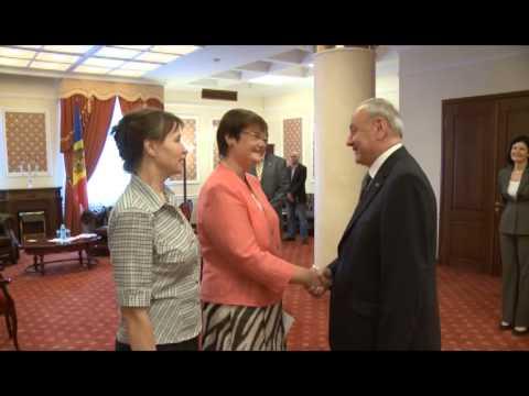 Președintele Nicolae Timofti a avut o întrevedere cu ambasadorul Republicii Lituania, Violeta Motulaite