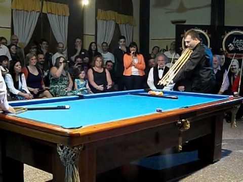 Los mejores jugadores de pool del mundo en Luján