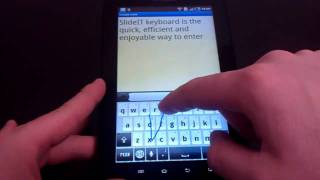 SlideIT free Keyboard YouTube video