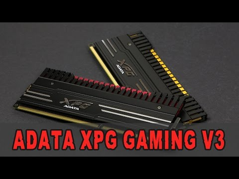 [Review] Adata XPG Gaming v3 DDR3-1600 CL9 8GB Kit - Unboxing & Review (German)