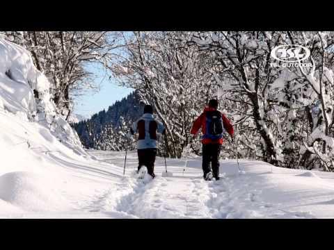 TSL OUTDOOR CLIP - The snowshoe Leader // leader de la raquette à neige