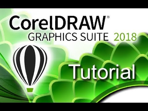 CorelDRAW 2018 - Full Tutorial For Beginners [+General Overview]