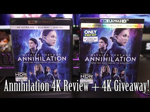 Annihilation 4K Blu-Ray Review + 4K Giveaway!
