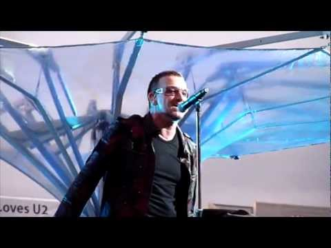 U2 New Year's Day (U2360° Tour Live From Dublin) [Multicam 720p by Mek Vox with Ground … видео