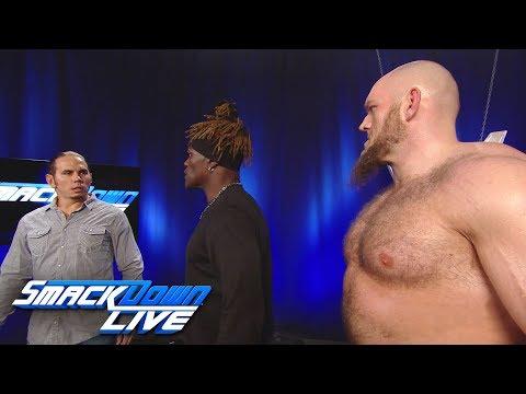 Lars Sullivan brutalizes Matt Hardy & R-Truth: SmackDown LIVE, May 7, 2019