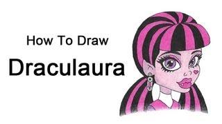Видео: рисуем голову Дракулауры