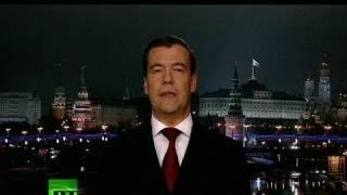 Happy New Year! President Medvedev 2011 address