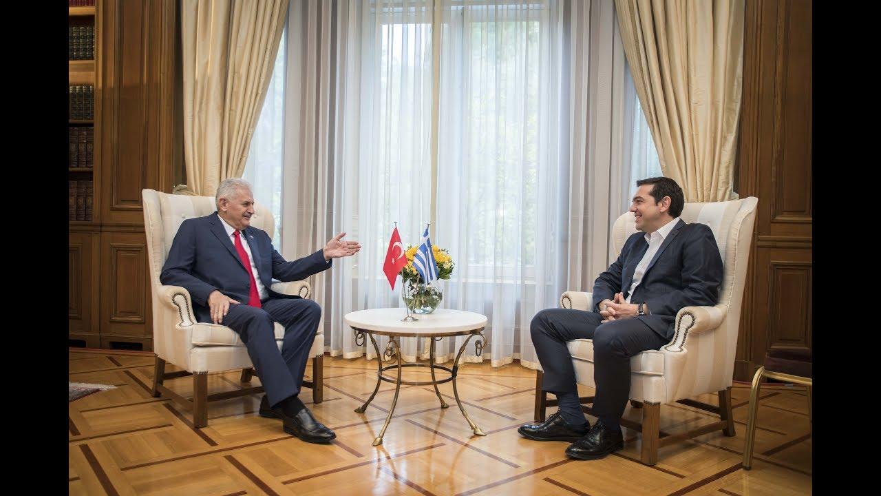 Συνάντηση με τον Πρωθυπουργό της Τουρκίας κ. Μπιναλί Γιλντιρίμ