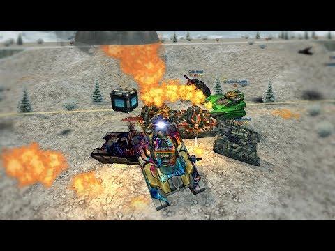 Tanki Online - GoldBox Montage #50   MM Battles   Epic!