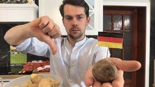 """Niemiecki ODPAD udaje ziemniaki w """"polskim"""" sklepie"""