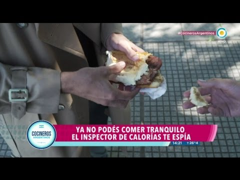 Inspector de calorías, episodio 1