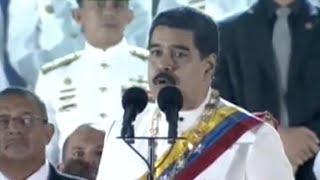 El presidente de Venezuela, Nicolás Maduro, exigió el lunes a los gobiernos de Estados Unidos, Colombia y México aclarar un...