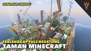 Video TAMAN IMPIAN MINECRAFT - Full Redstone MP3, 3GP, MP4, WEBM, AVI, FLV Februari 2018