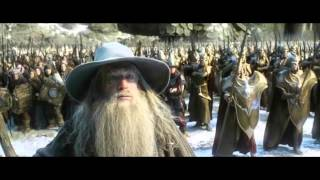 The Hobbit  The Battle Of The Five Armies   Extended Edition  Dwarves Vs Elves Battle   Full Hd