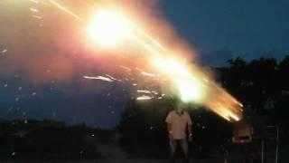 Massive Fireworks Experiment