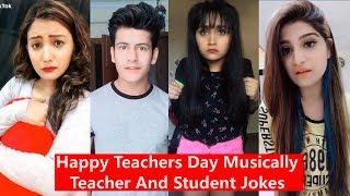 Video Happy Teachers Day Musically | Teacher and Student Jokes | Manjul, Awez, Aashika, Heer, Disha Madan MP3, 3GP, MP4, WEBM, AVI, FLV Januari 2019