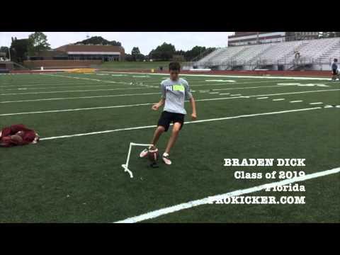 Braden Dick, Prokicker.com Kicker, Class 2019