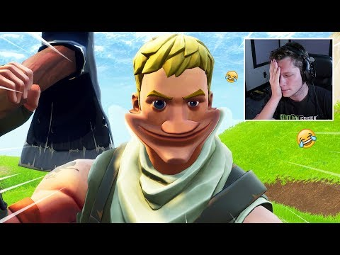 REACTING TO MY FIRST FORTNITE GAME