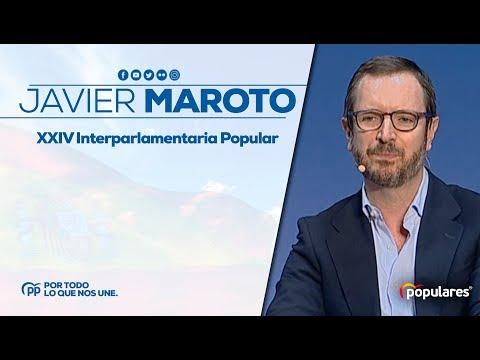 """Javier Maroto: """"Si volvemos a dividir el voto, Sánchez se queda"""""""