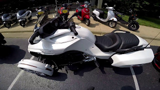 2. Can-Am Spyder F3-T Demo Ride