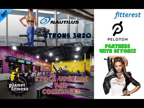 087 - Nautilus 3Q20, Planet Fitness Upgrade, Peloton and Beyonce