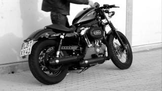 6. Harley Davidson Sportster 1200 Nightster  with Penzl Exhaust
