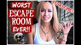 Storytime: WORST ESCAPE ROOM EVER!! | Kym Yvonne