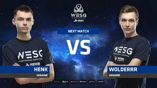 Henk vs Wolderrr, game 1