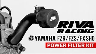 9. RIVA Racing Yamaha FZR FZS FX SHO Performance Power Filter Kit