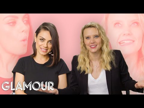Mila Kunis and Kate McKinnon: That's Not How We Met | Glamour