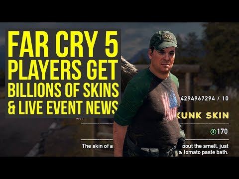 Far Cry 5 Live Event News, Players Get Billions of Skins & More Far Cry 5 News (Far Cry 5 DLC) (видео)