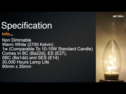 LED Star Tree Candle Warm White