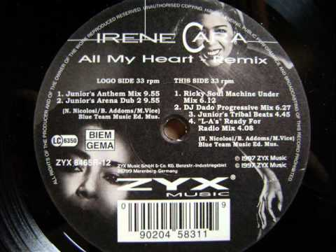 Tekst piosenki Irene Cara - All My Heart po polsku
