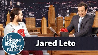 Video Jared Leto Brings Jimmy a Gift from the Joker MP3, 3GP, MP4, WEBM, AVI, FLV Juni 2018