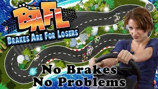 No buses or Sandra Bullock, it's all about non-stop driving in top-down arcade racing game BAFL - Brakes Are For Losers.BAFL is coming later in 2017 (for Windows, Mac OS, and LINUX) and can be found on Steam - http://store.steampowered.com/app/573070/BAFL__Brakes_Are_For_Losers/To keep up to date with ALL the Cryptic Hybrid things check out: - TWITTER: https://twitter.com/CrypticHybrid  - MINDS: https://www.minds.com/CrypticHybrid  - FACEBOOK: https://www.facebook.com/cryptichybrid/ PS Also don't forget to SUBSCRIBE - www.youtube.com/cryptichybrid