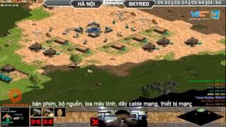 Hà Nội vs Skyred, Ngày 07/10/2015, C2T4, game đế chế, clip aoe, chim sẻ đi nắng, aoe 2015